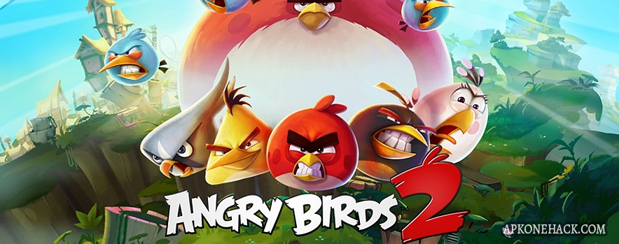 Angry Birds 2 MOD Apk + OBB Data [Mega Hacks] 2.24.0 Android Download by Rovio Entertainment Ltd.